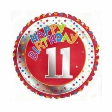 11 jaar helium ballon verjaardag