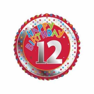 12 jaar helium ballon verjaardag