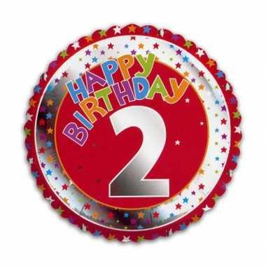 2 jaar helium ballon verjaardag