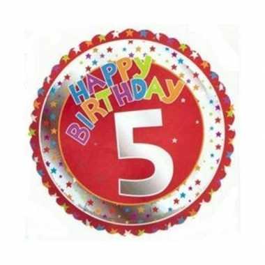 5 jaar helium ballon verjaardag