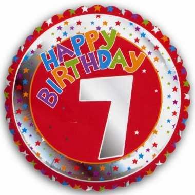 7 jaar helium ballon verjaardag