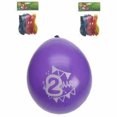 Ballonnen met 2 jaar print