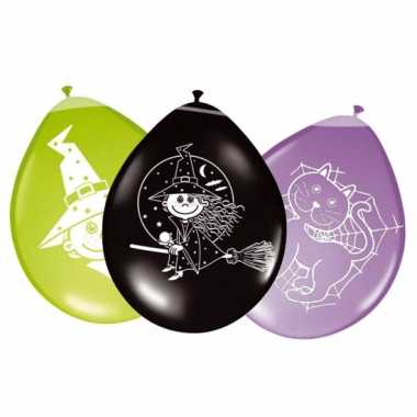 Ballonnen voor een heksenfeestje