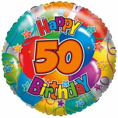 Folie ballon 50 jaar 45 cm