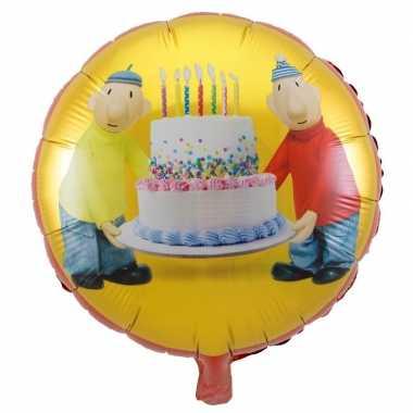 Verjaardag Buurman.Folie Ballon Buurman Buurman 45 Cm