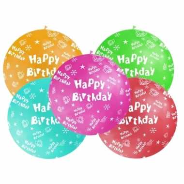 Mega ballon verjaardag