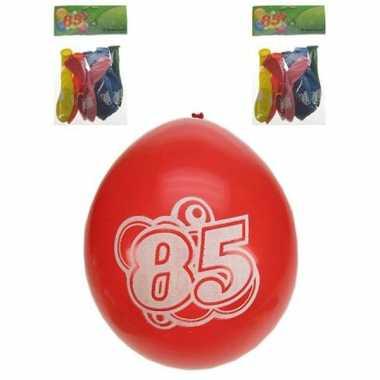Party ballonnen 85 jaar