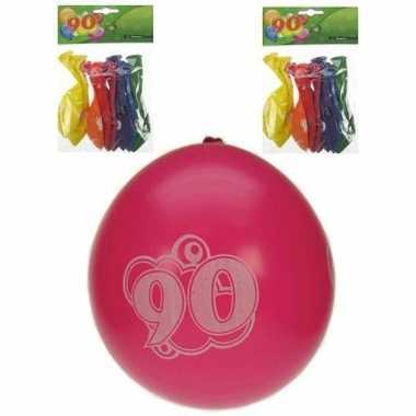 Verjaardag ballonnen 90 jaar