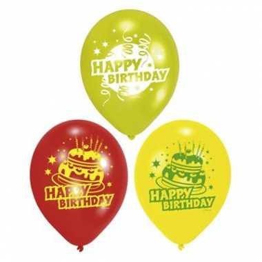 Verjaardags versiering ballonnen
