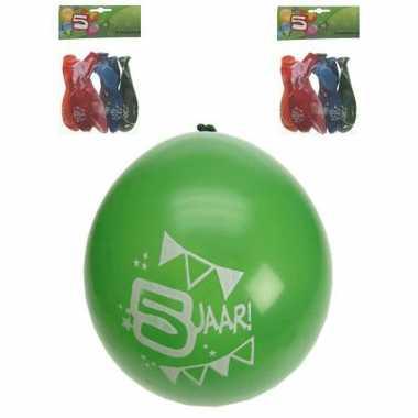 Voordelige leeftijdballonnen 5 jaar