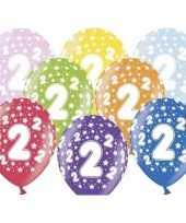 2e verjaardag ballonnen met sterretjes