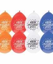 8x geslaagd versiering ballonnen hoera geslaagd feest