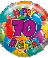 Folie ballon 70 jaar 45 cm